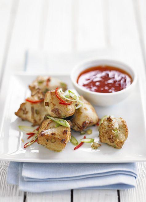 John Torode's Japanese crispy chicken with chilli dipping sauce