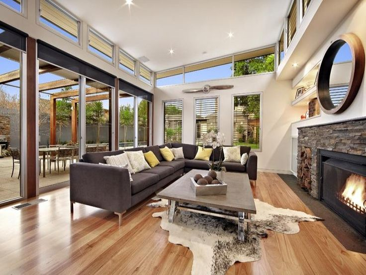 Open Plan Living Room Colours