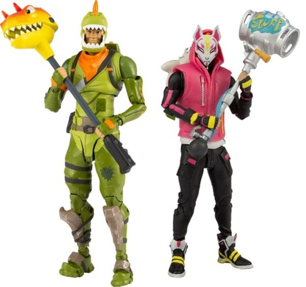 "McFarlane Toys Fortnite Wave 2 Rex /& Drift 7/"" Figure Lot En Stock"
