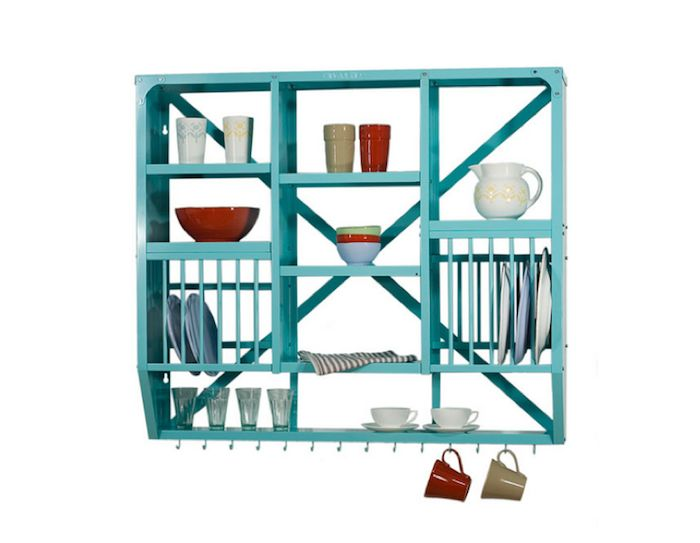 Wall Mount Dish Rack - eclectic - dish racks - other metro - kingfisherhouse.  sc 1 st  Pinterest & 20 best Kitchen Plate Racks images on Pinterest | Dish racks Plate ...