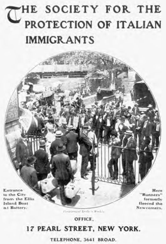 a paper on italian immigrants in america Preferred citation: papers of john f kennedy presidential papers president's  office files speech files remarks to american committee on italian migration, .