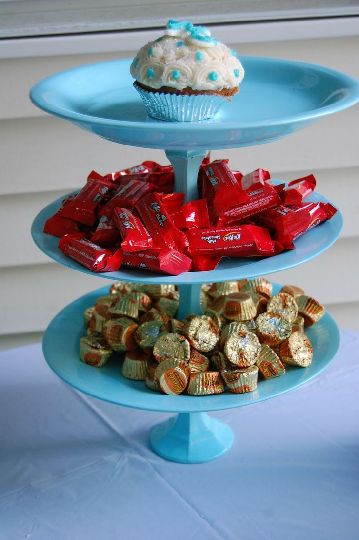 Diy 3 Tier Candy Cake Stand Made From Dollar Tree Life