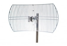 Antenne TP-LINK WiFi 2,4GHz externe Grille parabolique 24dB