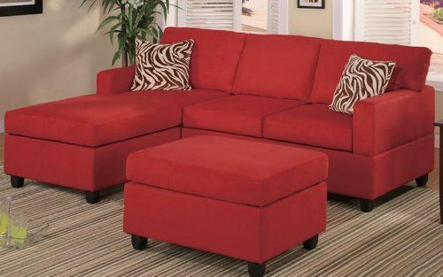 BOBKONA offer the best Bobkona Manhattan Reversible Microfiber 3-Piece Sectional Sofa Set, Red. This awesome product currently 6 unit available, you can buy it now for $714.00 $388.00 and usually ships in 4-5 business days