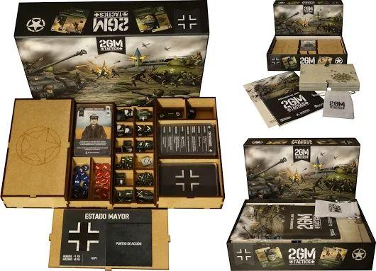 Boardgame / Juegos de Mesa  Inserto en madera para el 2GM Tactics   info: withoutmess.wom@gmail.com