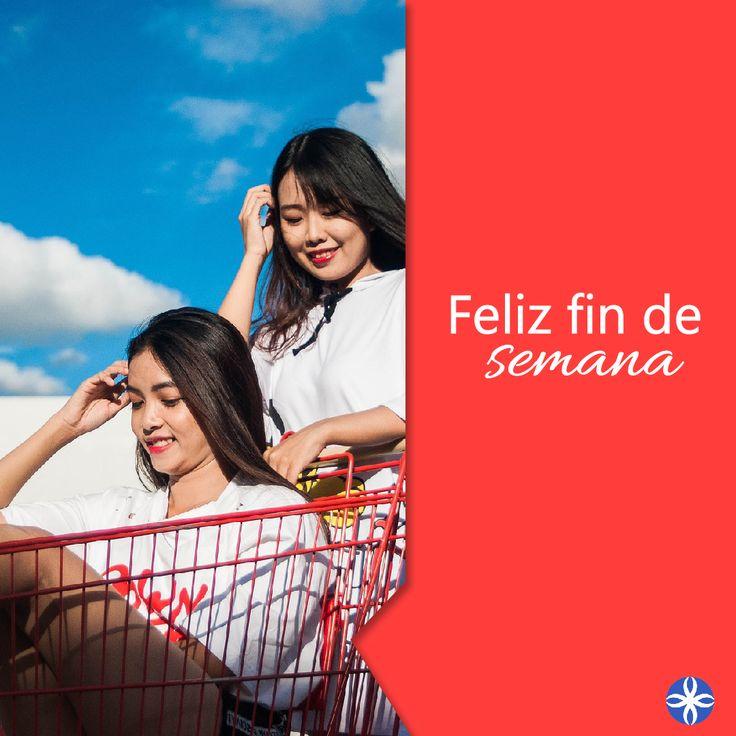 ¡Ten un feliz fin de semana, que la más bonita vibra invada tu cuerpo! #FelizViernes #FelizFinDeSemana