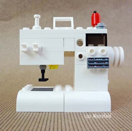 1000 images about lego my sewing machine on pinterest for Arts and crafts sewing machine