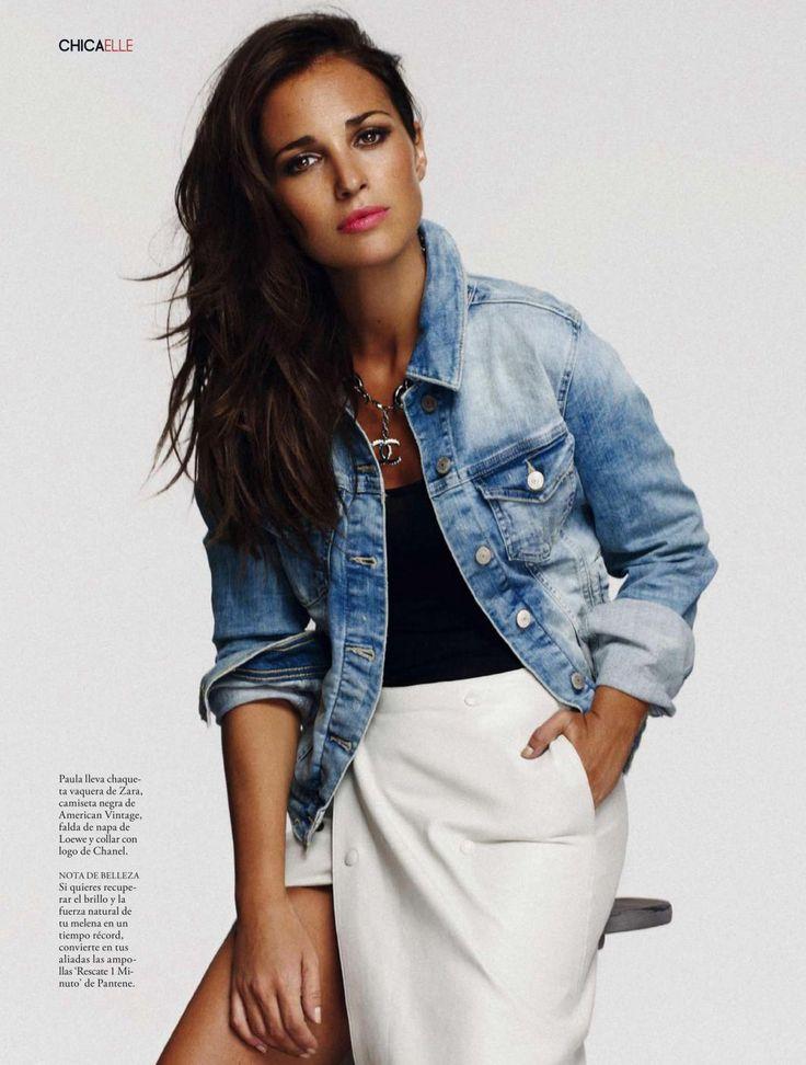 paula echevarria elle spain 2 Paula Echevarria by Xavi Gordo for Elle Spain November 2013 [Cover + Editorial]