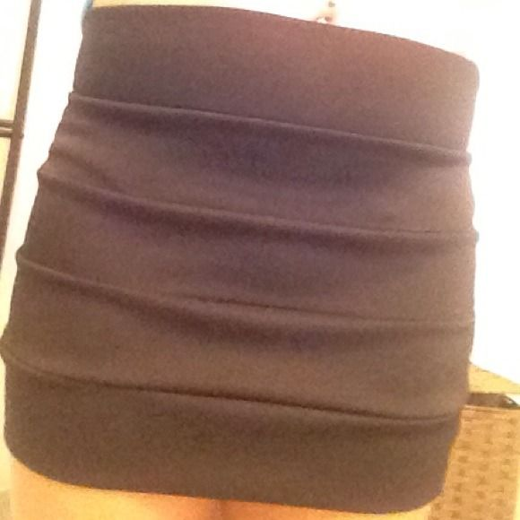 Black Short pencil skirt Black , worn a few times but perfect condition, will fit  s/m Skirts Pencil