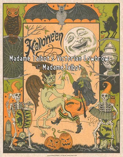 Madame Talbot's Victorian Lowbrow Halloween by VictorianLowbrow