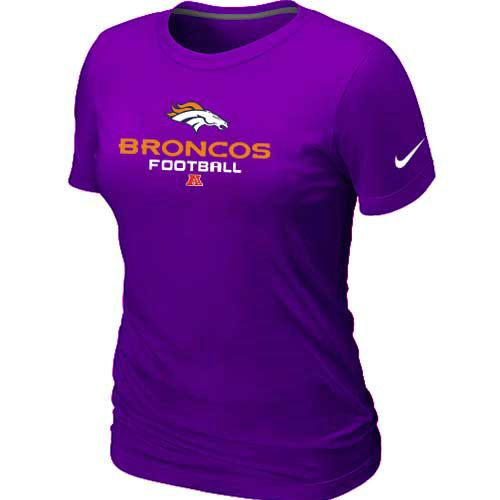 85f8b9a51 NFL Denver Broncos Critical Victory T-Shirt Purple Womens   PURPLE & GOLD    Nfl denver broncos, Denver broncos, Broncos