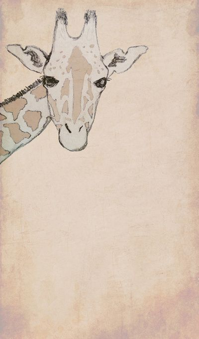 how to draw a iphone giraffe canvas print giraffe so and chang e 3 3374