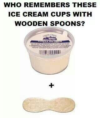 Ice cream in the high school cafeteria