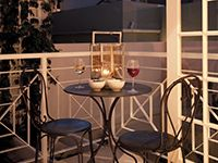 Opt to stay in and enjoy  night cap on your balcony #MOREplaces #MoreQuarters #apartments #CapeTownaccommodation