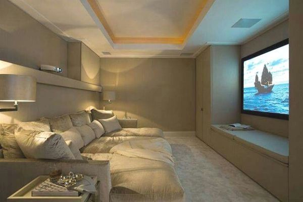 Basement Home Theater Ideas Diy Small Spaces Budget Medium Inspiration Awesome Concession Stands Home Cinema Room Home Theater Rooms Home Theater Design
