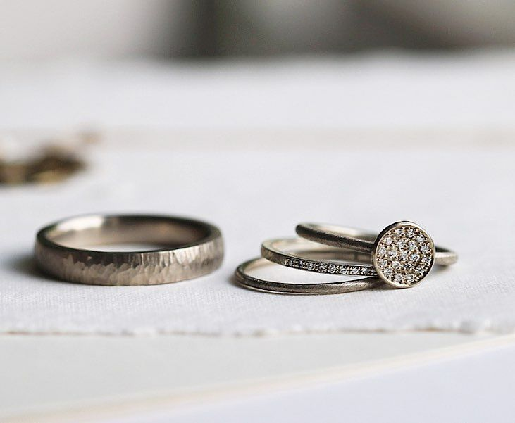 Michaela Römer (@michaelaroemer) on Instagram 'you're unique . . . create your own story and use your power and spirit to make a difference . . .'  #weddingbands