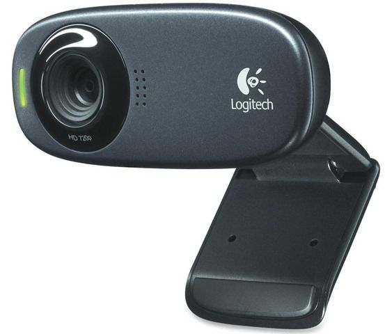 Logitech HD C-270 Web Camera (Black)