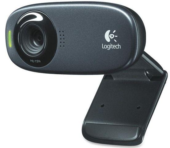 Logitech HD C-270 Web Camera (Black)