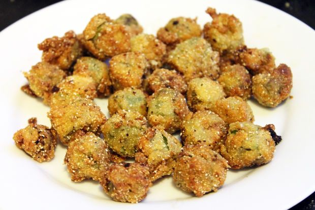 Picture of Perfect Fried Okra Recipe