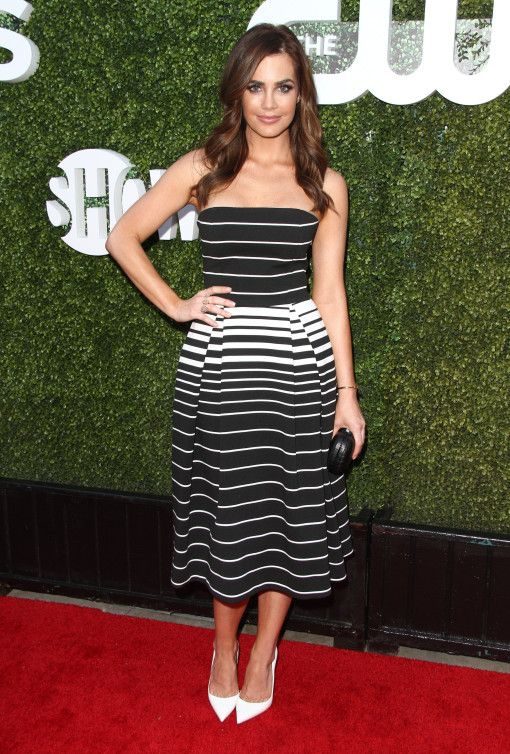 Jillian Murray at the CBS, CW, Showtime party
