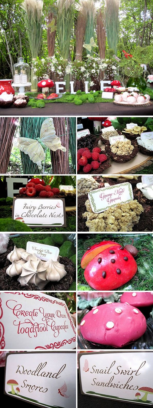 Party Idea: Woodland fairy themed child's party