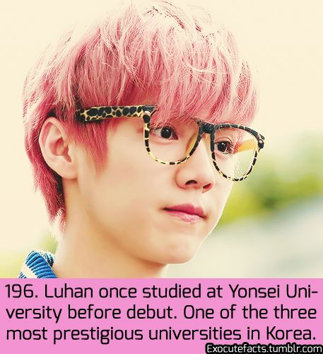Exo Facts./// SERIOUSLY THE COLLEGE I WANT TO GO TO.