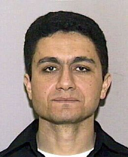 A head shot of a man in his thirties looking expressionless toward the camera   Mohamed Atta, Egyptian national who was ringleader of hijackers in 911