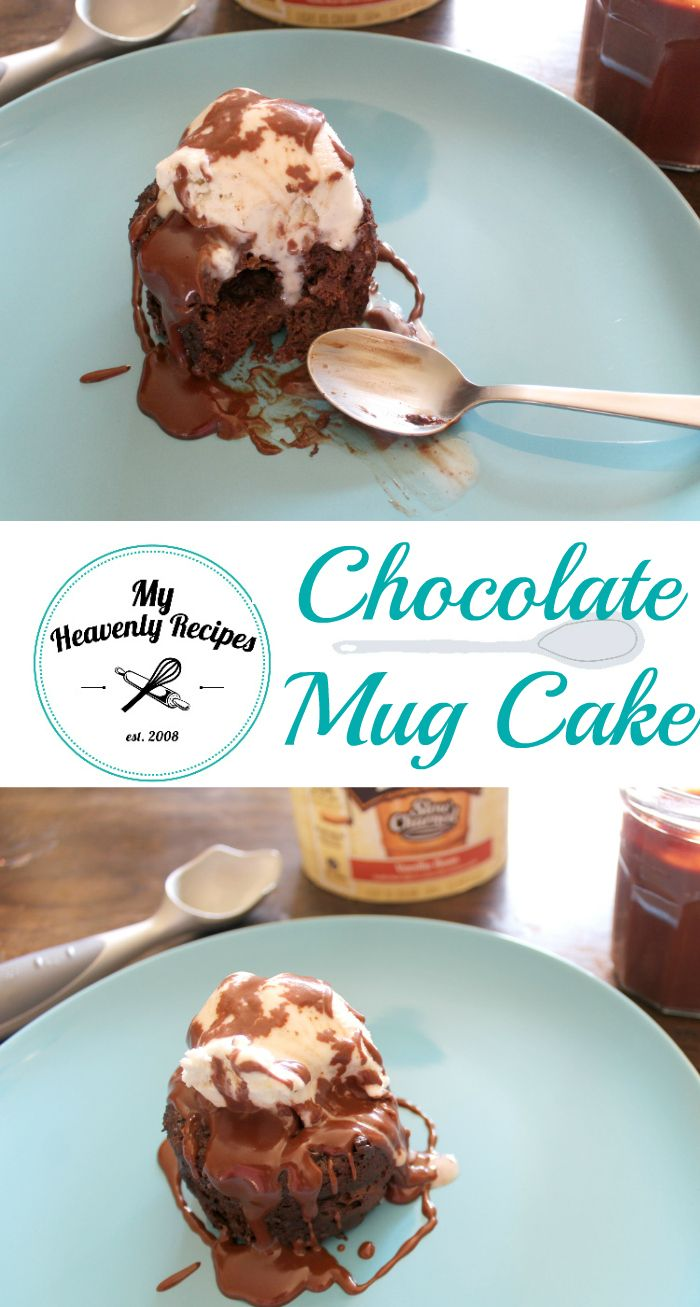 Pampered Chef Mug Cake
