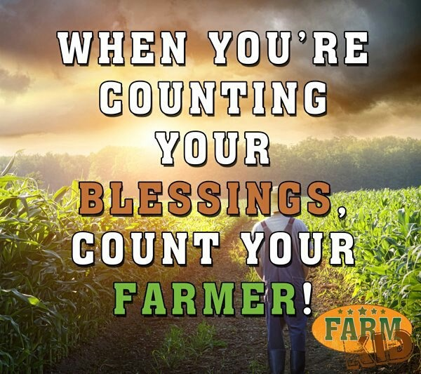 Farmers Day Quotes: THANK YOU FARMERS