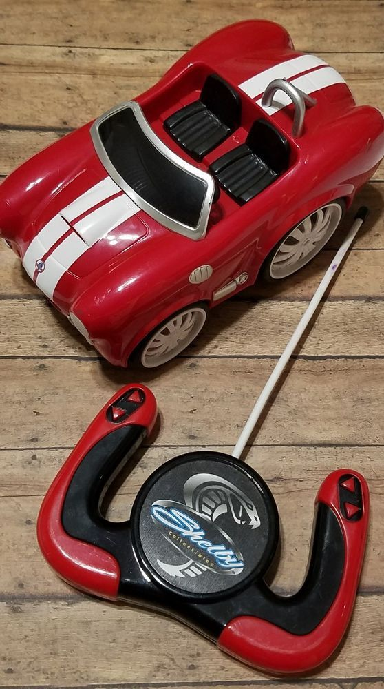 Shelby Collectibles Chunky Red Cobra RC Radio Remote Controlled Car FREE SHIP #ShelbyCollectibles