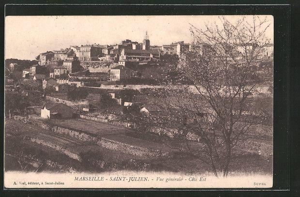 Saint Julien - Vue générale - Côté Est