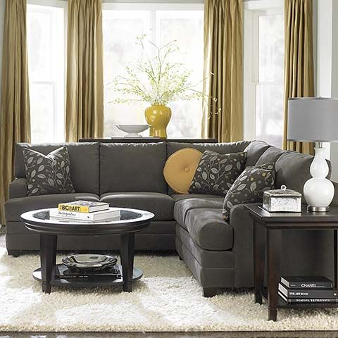17 best images about sofas on pinterest upholstered sofa grey sectional and shops for Bassett living room u shaped sectional