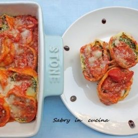 Rotolo di pasta con ricotta e spinaci. Condivisa da: http://blog.giallozafferano.it