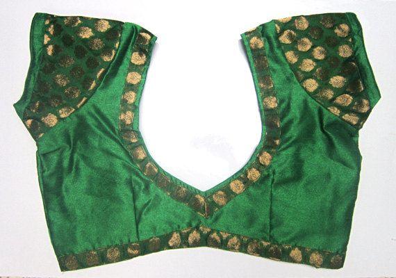 Fertige Dipin Saree Bluse mit Golden touch - alle Größen - Sari Bluse - Saree Top - Sari Top - für Damen - Bluse Designer saree