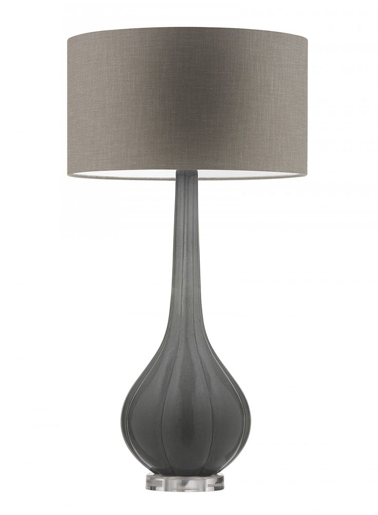 Elenor Graphite Table Lamp - Heathfield & Co