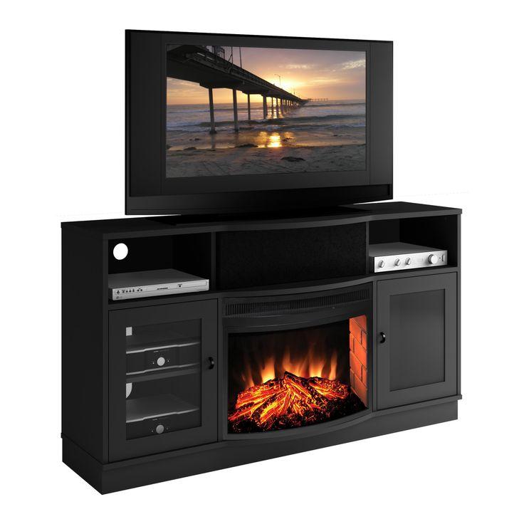 Best 25 Corner Fireplace Tv Stand Ideas On Pinterest