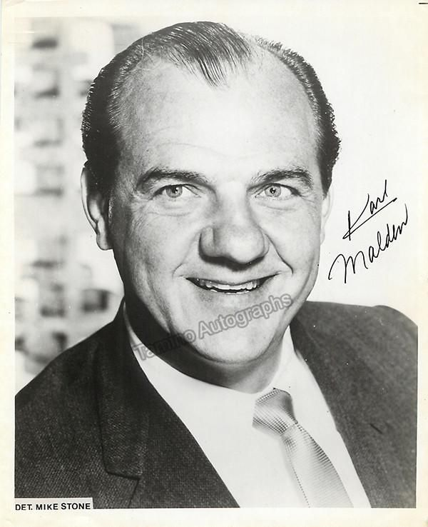 Malden, Karl - Signed Photo