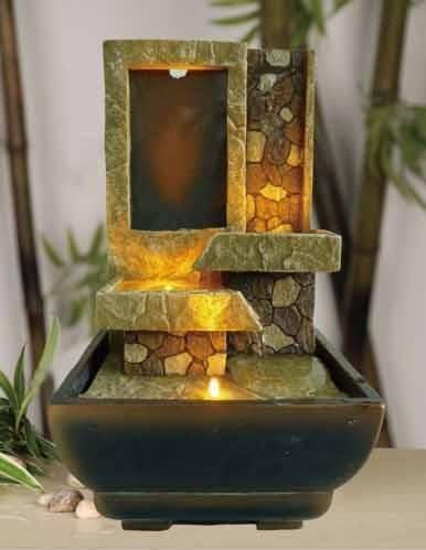 Best Indoor Fountain 308 best indoor fountains and accessories images on pinterest indoor waterpot 9h decorative table top stoney ladder led fountain this is an amazon workwithnaturefo