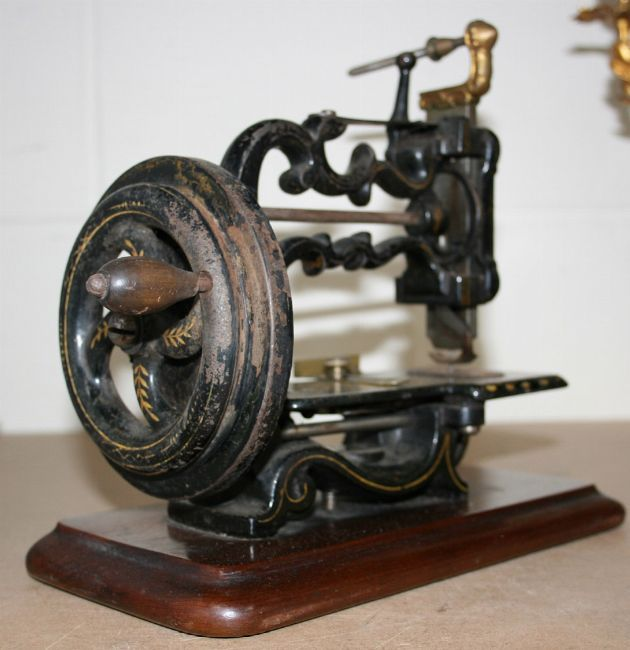 Sewing machines, fine Victorian Machine Design