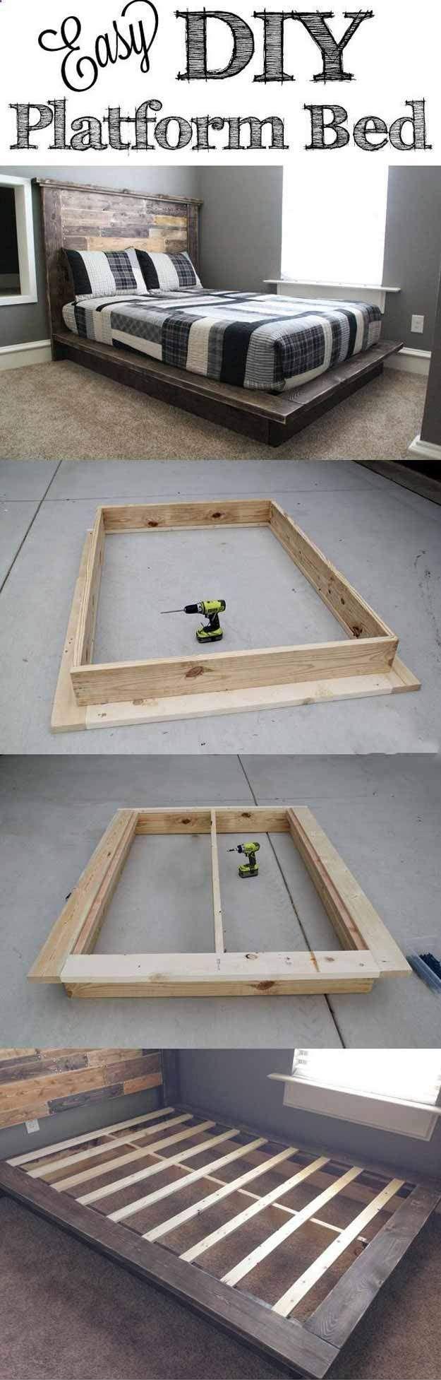 Diy Easy Platform Bed