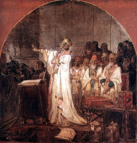 Third Ecumenical Council of Ephesus Vasily Surikov · 1876