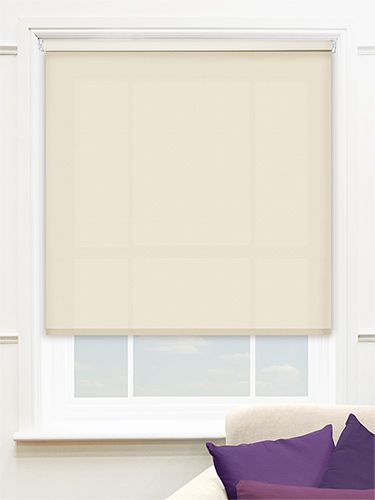 Valencia Simplicity Beige Roller Blind from Blinds 2go