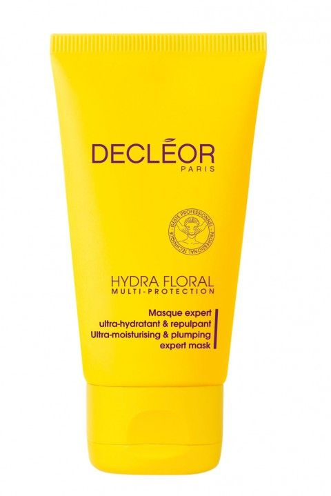 Decleor hydra floral mask... fantastic for dehydrated skin and you can leave it on overnight = amazing plumped up skin