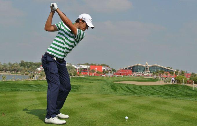 Matteo Manassero Abu Dhabi HSBC Golf Championship #abudhabi #golf