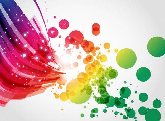 arte abstrata color