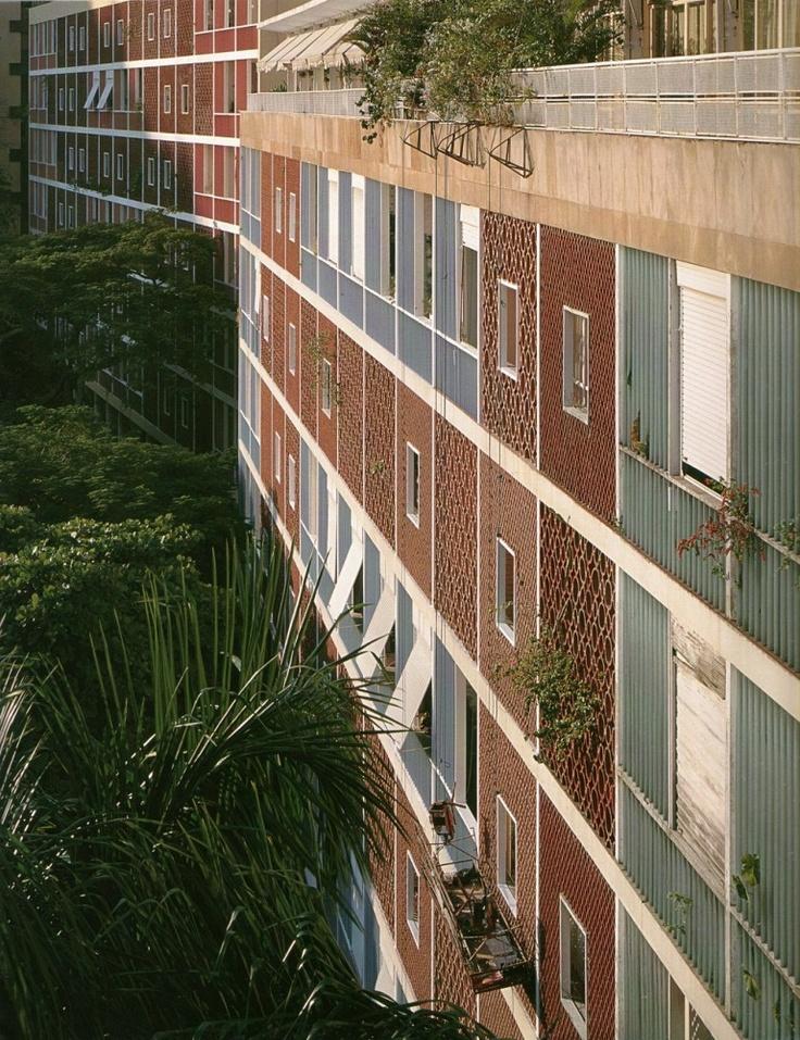 Parque Eduardo Guinle, Rio de Janeiro / Lucio Costa 1954