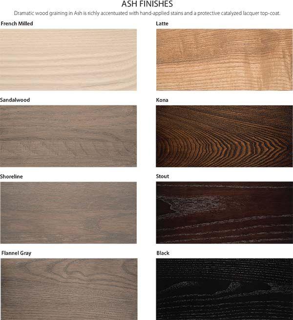 Wood Finish Options Cherry Maple Ash Paint Gat Creek Staining Wood Wood Finish Ash Wood