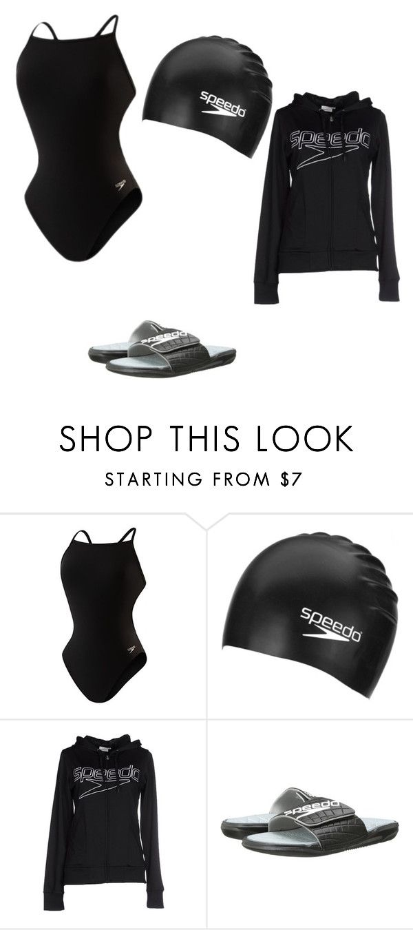 """Swim wear"" by sarahmackenzie21 ❤ liked on Polyvore featuring Speedo"
