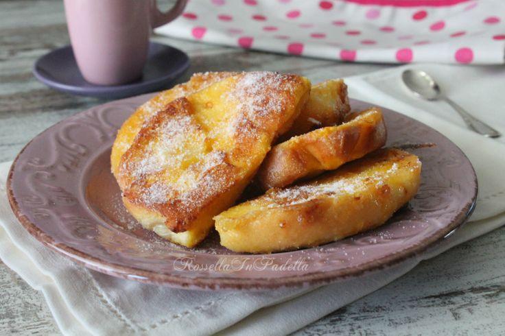 Pane fritto dolce - ricetta facile ed economica