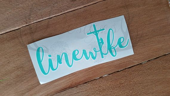 Linewife Decal Linewife Power Lineman Electrical Lineman